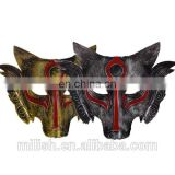 2017 Halloween decorations stage performance animal masks Horror wolf head plastic mask for masquerade wholesale MFJ-0107