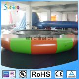 Cheap Water Park Round Jumping Inflatable Water Trampoline for Sale