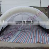Inflatable tunnel tent,trade show tent T018