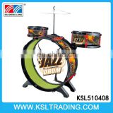 Wholesale children jazz drum toys set with stool
