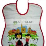 nice polyester baby bib for gift