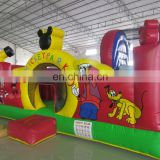 Inflatable bouncy park inflatable bouncy playground city amusing park