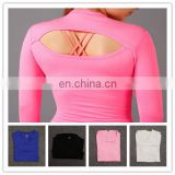 women Compression Gym Running Dry Quick Sports plain tank top clothing