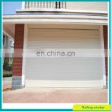 wihte vertical motorized roller shutter door for garage