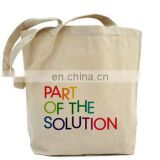Wholesale recyclable cotton shopping bag/Fashion reusable eco-friendly cheap cotton tote bag