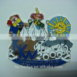 Hot sale best quality cheap metal medal,Hallowmas zinc alloy Carnaval medal, carnival clown play game medal