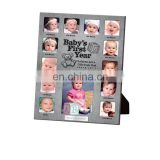 Baby's First Year Metal 13 Photo Frame Collage