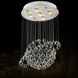 Made in China ball Crystal Chandelier LED Pendant Lamp Used home 6005-5