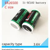 Primary Li-SOCl2 3.6V C size lithium battery