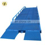 7LYQ Shandong SevenLift hydraulic used truck shipping container lifting systems platforms ramp