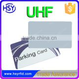 DIY design printing uhf entrance access card for car parking