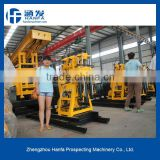 Geological Exploration!! Take soil and rock samples! HF130 mining core drilling machine