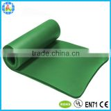 extra thick customized silk screen printed nbr yoga mat 15mm                                                                         Quality Choice