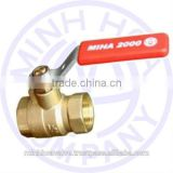BRASS BALL VALVE LEVER HANDLE MIHA BRAND DN 25