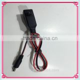 Standard USB Adapter Connector For DC Motorcycle Battery Charging Cables
