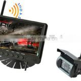 "wireless rearview camera system with 7"" wireless LCD moniotor reciever and wireless CCD camera"