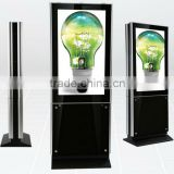 "Double Sided Digital Display Screens 42"" 47"" 55"" 65"" Indoor LCD Advertising Equipment"