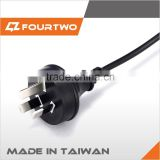 Made in Taiwan high quality low price lamp power cord,magnetic power cord,hair iron power cord