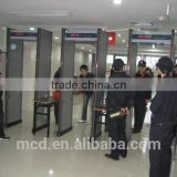 Security 6 Zones Walk Through Metal Detector Gate MCD-300 in Dubai Used for Airport / Station