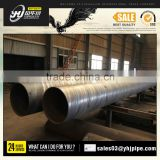 Double Flanged spiral welded steel pipes /spiral steel tube