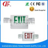 Emergency light CE RoHS SAA 3 Years Warranty LED Exit Sign light IP33 Emergency LED Exit light