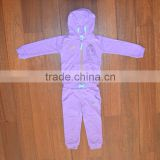 Cheap girl velvet training jogging suit clothes, girls tracksuits velour tracksuits