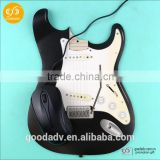 Made in China good quality custom design pretty guitar-shaped mouse pads