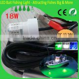 qualified led fishing underwater light wooden model fishing boats