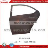JAC J5 rear door panel car iron parts used auto parts singapore
