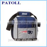 Customized reusable Aluminum Foil small cooler bag,6 can cooler bag and insulated disposable cooler bag
