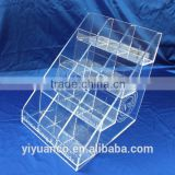 Custom acrylic cosmetics display stand/acrylic display/acrylic stand/cosmeic display stand