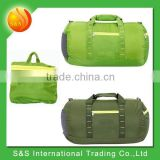 40L easy carry lightweight leisure barrel outdoor foldable travel bag