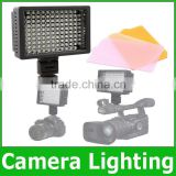 HD-126 HD126 LED Video Light Lamp Panel 5400K /3200K Dimmable for Canon Nikon Pentax DSLR Camera Camcorder