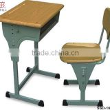 2015 cheap used modern school furniture type adjustable school desk ,classroom school sets,school desk and bench