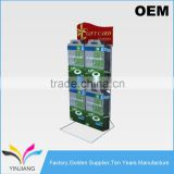 High Quality OEM design Metal Wire counter hanging gift card display stand                                                                         Quality Choice