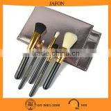 2016 New items 5pcs cosmetic brush set double face hair