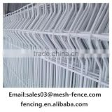 Alibaba china manufacture corrosion resistance firm steel mesh fence / triangle bending fence / 3D curved welded wire mesh panel