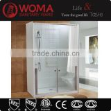 Hot selling walk in shower room with seat and lower tempered glass door for elder people Y699A