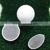 Hot sale Tai wan two piece practice golf ball