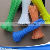 rubber nylon reusable cable tie plastic reusable cable ties self locking resuable cable tie