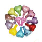 5 inch plain color heart shape foil balloon                                                                                                         Supplier's Choice