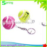 custom logo Tennis Ball Key chain /promotion gift sports Tennis Ball Key ring                                                                         Quality Choice