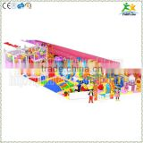 One successfully finished candy theme indoor playground equipment with variety of games for Romania market