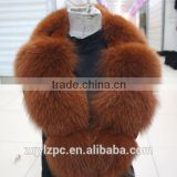 classic big fox and rex rabbit banana fur collar/Factory Direct Wholesale Leather Jacket fox and rex rabbit Fur Collar