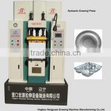 Hydraulic Double-Action Drawing Machine 20T, Aluminium cookware product