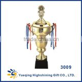 Big plastic base gold award cup trophies souvenir world cup metal golden trophy made in china trophy cups