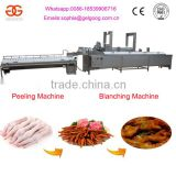Stainless Steel Chicken Feet Cleaning Processing Machine