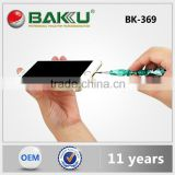 2015 BAKU New product of rainbow colors all kinds of mouth mini precision screwdriver BK-369