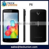 5inch IPS screen android 3G smartphone P8 MTK6572 GPS dual core low price china mobile phone