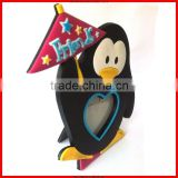2014penguin shape attractive photo frame&frame photo&photo picture frame for christmas